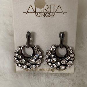 NWT Amrita Singh Fashion Earrings